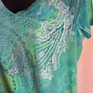 Appropriated Behavior Tops - T-Shirt by Appropriated Behavior Size XL Green